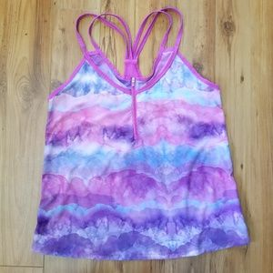 SALE! Lija Pink Colorful Workout Top